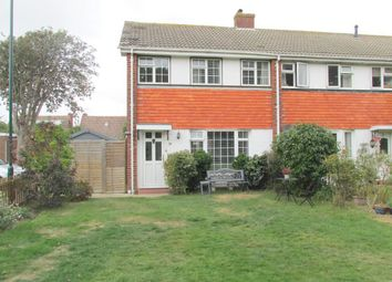 Thumbnail 3 bed end terrace house for sale in Tangmere Gardens, Aldwick, Bognor Regis, West Sussex