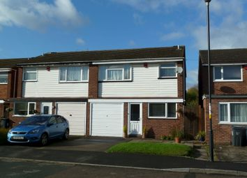 Thumbnail 3 bed semi-detached house to rent in Hilary Drive, Walmley, Sutton Coldfield.