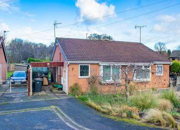 Thumbnail 2 bed semi-detached bungalow for sale in Brendon Way, Long Eaton, Nottingham
