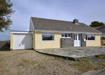 Thumbnail 3 bed detached bungalow for sale in Cranog Close, Trefin, Haverfordwest