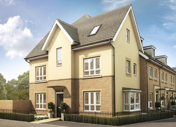 "Thumbnail 4 bed end terrace house for sale in ""Hexham"" at Knights Way, St. Ives, Huntingdon"