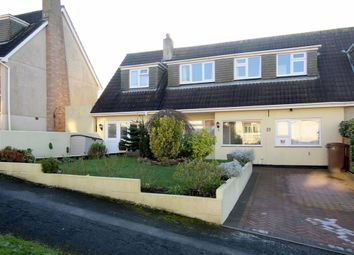 Thumbnail 5 bed semi-detached house for sale in Tylney Close, Birdcage Farm, Plymouth