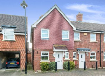 Thumbnail 2 bed end terrace house for sale in Withy Close, Romsey