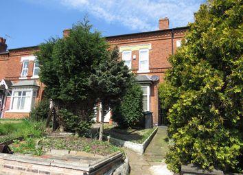 Thumbnail 4 bed terraced house for sale in Kingsbury Road, Erdington, Birmingham