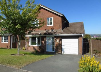 Thumbnail 4 bedroom detached house for sale in Heol Morlais, Llangennech, Llanelli