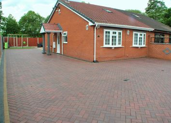 Thumbnail 3 bed semi-detached bungalow for sale in Station Road, Sandycroft, Deeside