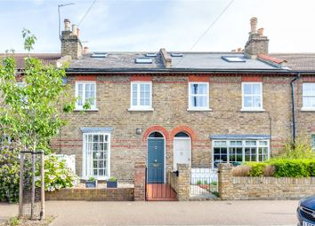 Thumbnail 3 bed terraced house for sale in Alexandra Road, Kew, Surrey