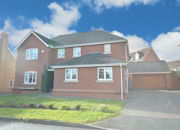 Thumbnail 4 bed detached house for sale in Buckridge Lane, Dickens Heath, Shirley, Solihull
