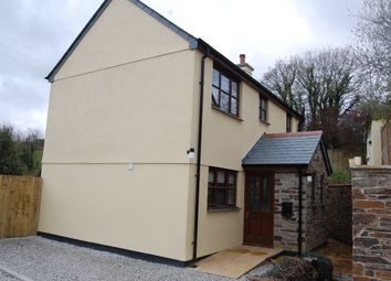Thumbnail 3 bed detached house to rent in Looe Mills, Liskeard