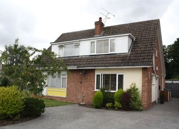 Thumbnail 3 bedroom semi-detached house for sale in Plymouth Avenue, Woodley, Reading, Berkshire