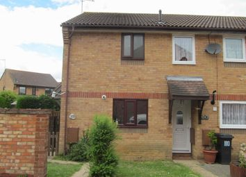 Thumbnail 2 bedroom end terrace house for sale in Lindsey Way, Stowmarket