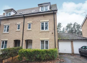 Thumbnail 4 bed semi-detached house for sale in Heathland Way, Mildenhall, Bury St. Edmunds