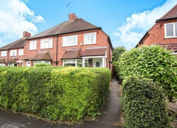 Thumbnail 3 bed semi-detached house for sale in Cranmore Road, Shirley, Solihull