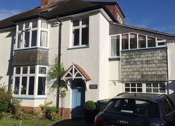 Thumbnail 4 bed semi-detached house to rent in Chapel Place, Fore Street, Topsham, Exeter