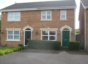 Thumbnail 2 bed semi-detached house to rent in Lowesby Close, Holland House, Walton-Le-Dale