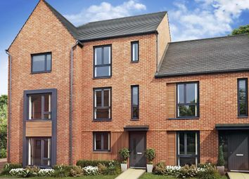"Thumbnail 3 bedroom terraced house for sale in ""Redwing"" at Louisburg Avenue, Bordon"