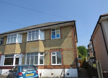 Thumbnail 2 bedroom flat for sale in Sunnyside Road, Parkstone, Poole