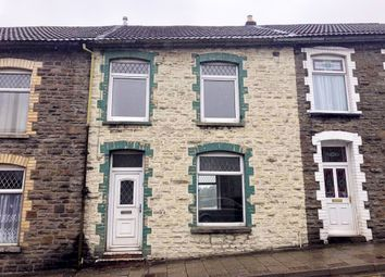 Thumbnail 3 bed terraced house to rent in Tonpandy -, Tonypandy