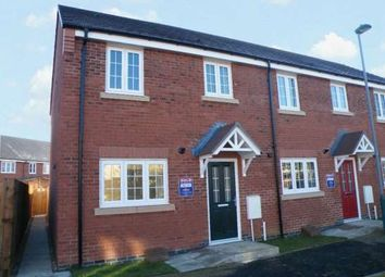 Thumbnail 3 bed end terrace house to rent in Jupiter Avenue, Cardea, Stanground, Peterborough