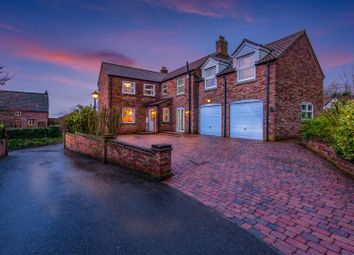 Thumbnail 5 bed detached house for sale in Ellerby Court, East Keal, Spilsby