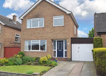 Thumbnail 3 bed detached house for sale in Rushdale Avenue, Littleover, Derby