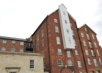 Thumbnail 1 bedroom flat to rent in Pridays Mill, - Commercial Road, Gloucester