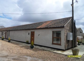 Thumbnail 1 bed semi-detached bungalow to rent in Church Road, Aldeby, Beccles