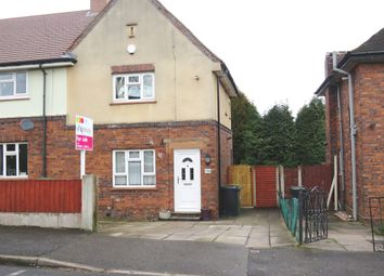 Thumbnail 2 bed semi-detached house for sale in Holly Road, Dudley