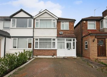 Thumbnail 3 bed end terrace house for sale in Jubilee Road, Perivale, Greenford