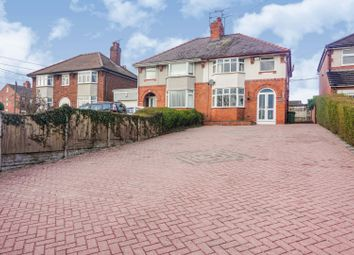 3 bed semi-detached house for sale in Wrexham Road, Wrexham LL14