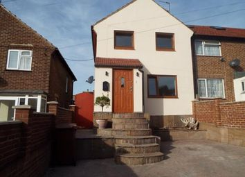Thumbnail 3 bed end terrace house for sale in Lancelot Avenue, Rochester, Kent