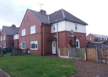 Thumbnail 3 bed semi-detached house to rent in Station Road, Blaxton, Doncaster