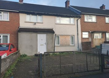 Thumbnail 3 bed terraced house for sale in Bunyan Close, Llanrumney, Cardiff