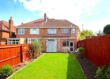 Thumbnail 4 bed semi-detached house for sale in Kingswood Avenue, Western Park, Leicester