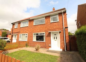 Thumbnail 3 bedroom semi-detached house for sale in Canterbury Crescent, Willington, Crook