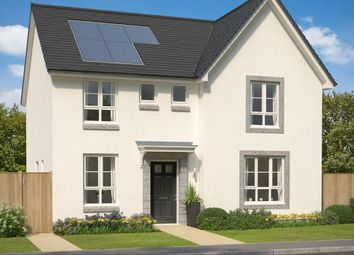 "Thumbnail 4 bed detached house for sale in ""Balmoral"" at Meikle Earnock Road, Hamilton"