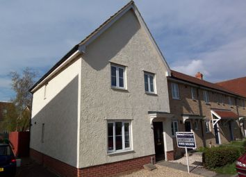 Thumbnail 4 bed semi-detached house to rent in Pennycress Drive, Wymondham, Norfolk