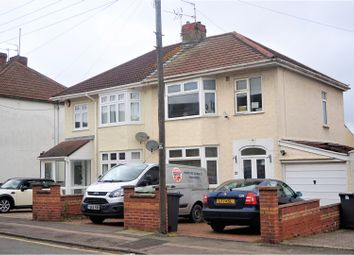 Thumbnail 3 bed semi-detached house for sale in Douglas Road, Kingswood