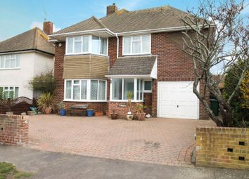 Thumbnail 3 bed detached house for sale in Hawley Road, Rustington, West Sussex