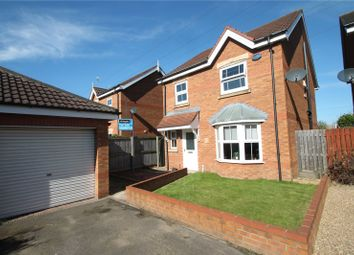 Thumbnail 3 bed detached house for sale in Willowmead Close, Scunthorpe, North Lincolnshire