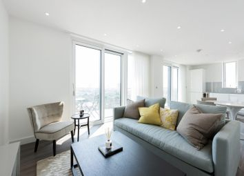 Thumbnail 2 bed flat to rent in Pinto Tower, Hebden Place, Vauxhall