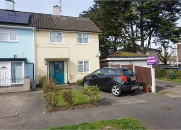 Thumbnail 3 bed end terrace house for sale in Redgrave Road, Basildon