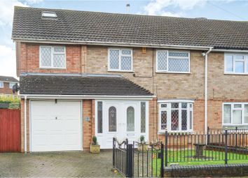Thumbnail 4 bed semi-detached house for sale in Wren Close, Aylesford
