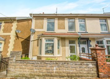 Thumbnail 3 bed semi-detached house for sale in The Avenue, Tonyrefail, Porth