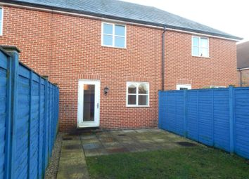 Thumbnail 2 bedroom terraced house to rent in Wheatfield Road, Mulbarton, Norwich