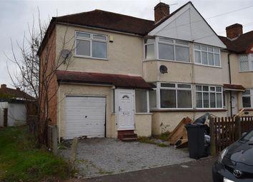 Thumbnail 5 bedroom end terrace house for sale in Elmgate Avenue, Feltham, Greater London TW13, Feltham