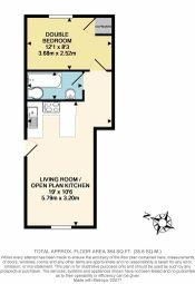 Thumbnail 1 bed flat for sale in Haynes Road, Westbury