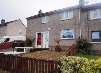 Thumbnail 1 bed flat for sale in Knockside Avenue, Paisley
