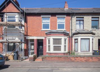 Thumbnail 4 bedroom terraced house for sale in Gelligaer Street, Cathays, Cardiff