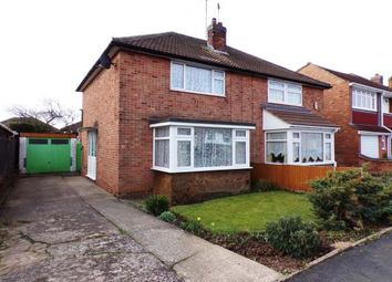 Thumbnail 2 bed semi-detached house for sale in Woodcote Road, Braunstone Town, Leicester, Leicestershire